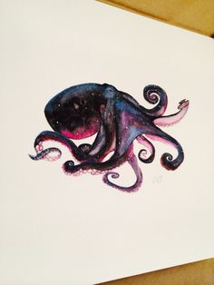 New Tattoo Leg Octopus Tat Ideas Octopus Tattoo Design, Octopus Tattoos, Octopus Art, Leg Tattoos, Body Art Tattoos, Sleeve Tattoos, Cool Tattoos, Tattoo Designs, Octopus Drawing