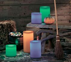 FRIGHT NIGHT LITES.  Exclusively at PartyLite.