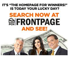 The HomePage for #PCH #Winners