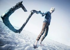 Beautifully done cosplay of Jack Frost from Rise of the Guardians. Epic Cosplay, Disney Cosplay, Amazing Cosplay, Cosplay Costumes, Cosplay Ideas, Male Cosplay, Costume Makeup, Anime Cosplay, Jelsa