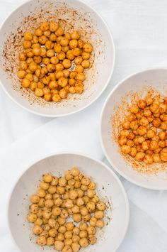Crispy Roasted Chickpeas Three Ways (Vegan, Gluten Free, Packed with Protein) | Sprouted Routes