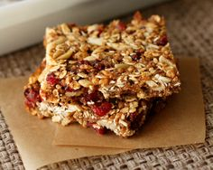 Almond Energy Bars R