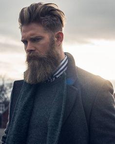 Josh Mario John - thick blond beard beards bearded man men blonde bearding mens' style fashion #beardsforever