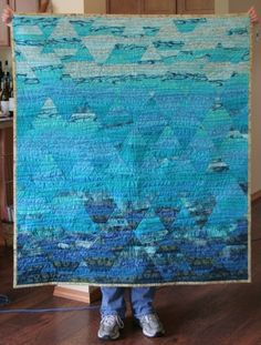 Quilting Designs For Water : Quilts - Hexagon on Pinterest Hexagons, Quilts and ...