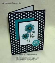 "handmade card: from original blogger: ""Stampin' Up! Bloom with Hope Hostess Stamp Set & Blendabilities Marker Technique.  Step by Step instructions can be found on my blog:  http://lindasstampinescape.com"""