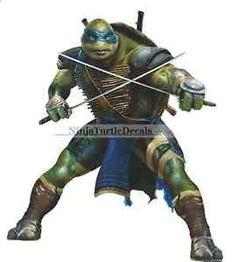 Fathead Teenage Mutant Ninja Turtles Movie Michaelangelo Wall - Ninja turtle wall decals