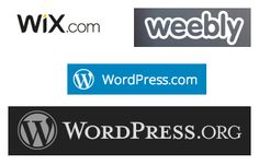 What's the best way to build your first website?  WiX, weebly, or WordPress?