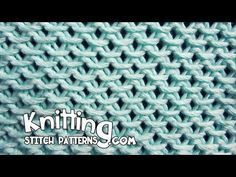 How to knit the Chinese Waves Stitch #Knitting