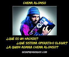 """Entrevista a un informático en el lado del mal """"Chema Alonso"""""""