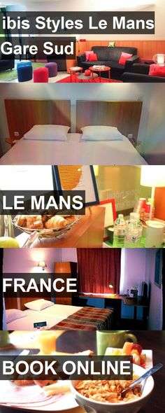 Hotel ibis Styles Le Mans Gare Sud in Le Mans, France. For more information, photos, reviews and best prices please follow the link. #France #LeMans #hotel #travel #vacation