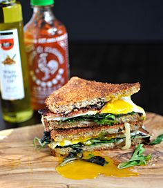 The Ultimate Bacon & Egg Sandwich