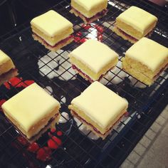 Jubile Petit Fours & Coconut Ice by Made With Pink, via Flickr