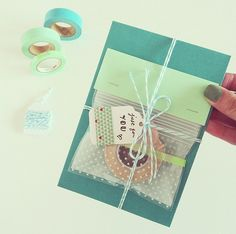 Cute Little Package made by http://instagram.com/ritacyc  More Snail Mail Ideas and inspiration on www.snailmail-ideas.com
