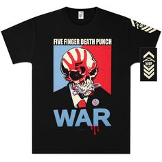 Five Finger Death Punch War T-Shirt https://fivefingerdeathpunch.bravadousa.spottrot.com/?product_uid=BGCTFD21