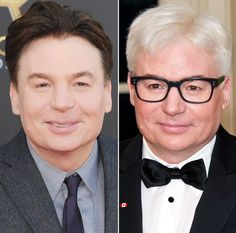 Mike Myers debuted white hair at Justin Trudeau's Canadian state dinner at the White House on Thursday, March 10 — see Twitter's best reactions Kids Choice Award, Teen Choice Awards, Celebrity Babies, Celebrity Photos, Trinidad James, Joey Graceffa, Best Documentaries, Mtv Movie Awards, Justin Trudeau