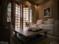 Senior housing living room, bandung Interior design & 3D visual: Dade Andriana