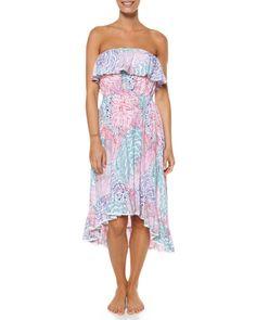 Kepani Maxi dress in fluro pink, AU$89.99 by Rip Curl, from Surfstitch, Australia.