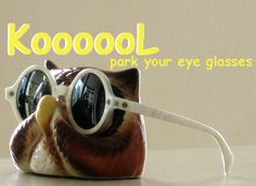 Vintage Ceramic Display Eyewear Holder- $47.00