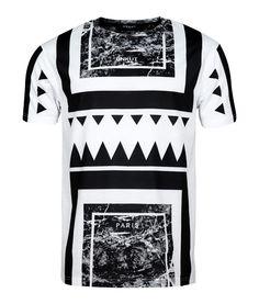 Unkut Aztec White T-shirt - Official Unkut Shop