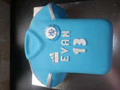 Chelsea jersey cake