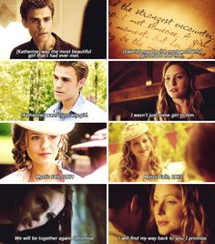 stefan and katherine / stefan and valerie