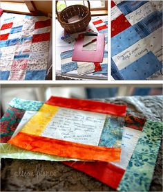 20 Creative Guest Book Ideas For Wedding Reception - so wish I would have seen this before I was married!!! Love the idea of having  a quilt with all your guest's names!!!