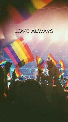 love always - gay rights human rights for all Lgbt Quotes, Pride Quotes, Gay Aesthetic, Rainbow Aesthetic, Lesbian Pride, Lgbt Community, Cute Gay, Oeuvre D'art, Cute Wallpapers