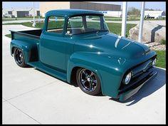 A Brief History Of Ford Trucks – Best Worst Car Insurance Ford 56, 1956 Ford Truck, Old Ford Trucks, Old Pickup Trucks, Hot Rod Trucks, Cool Trucks, Jeep Sahara, Ford Motor Company, Classic Trucks