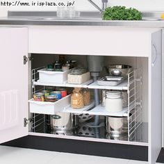 Found it at Wayfair - Under-Sink Multi-Drawer Organizer Under Kitchen Sink Storage, Bathroom Sink Organization, Countertop Organization, Sink Organizer, Bathroom Storage, Cabinet Organizers, Storage Organization, Medicine Organization, Modern Kitchen Cabinets