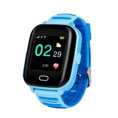 WONLEX KT02 Rezistent la apa Waterproof IP67  Ceas 3G inteligent pentru copii, cu camera, GPS, WiFi, touchscreen, functie telefon, buton SOS  *Functioneaza in reteaua Digi Gps Tracker Watch, Waterproof Speaker, Simile, Gps Tracking, Smart Bracelet, Kids Girls, Smart Watch, Two By Two, Android