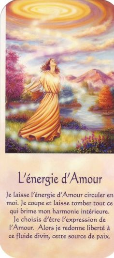 l'énergie d'Amour + texte Mario, Positive Attitude, Positive Thoughts, God First, Messages, Oracle Cards, Osho, Quotes About God, Archetypes
