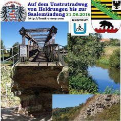 Unstrut-Radweg 31.08.2016 Von Heldrungen bis zur Saale-Mündung Radtour – Reportage Radwege in Thüringen und Sachsen Anhalt Drei Radwege in zwei Tagen – Tag 1