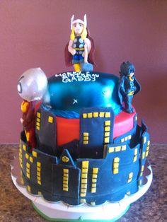 Action Hero Cake
