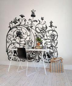 Wall mural R13241 Garden Gate