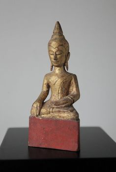Catawiki online auction house: Shan Buddha - Burma - around 1900