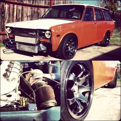 Turbo Ratsun Wagon: 1971 510 Wagon KA24DET project $3500