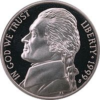 most valuable coins | CoinTrackers.com has estimated the 1999 D Jefferson Nickel Value ...