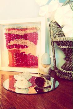 """Last Clip frame weaving done ! """"Agrid"""" weaving ★Naïs★©"""