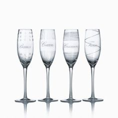 Mikasa Cheers Celebration 8-Ounce Flute Glass, Set of 4 --- http://bizz.mx/gnu
