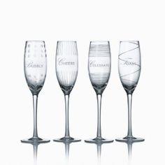 Mikasa Cheers Celebration 8-Ounce Flute Glass, Set of 4 --- http://bizz.mx/gnu