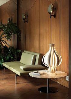 Mid Century Modern inspired interior by Minotti