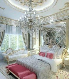 25 Awesome And Luxury Bedroom Design Ideas — Home Decor Ideas Dream Rooms, Dream Bedroom, Home Bedroom, Modern Bedroom, Bedroom Decor, Bedroom Furniture, Bedroom Neutral, Decor Room, Contemporary Bedroom