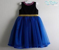 """Vestido """"Faz de Conta"""" - Anna Frozen"""