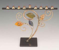 Infinity Art in Metal Tree of Life Menorah                                                                                                                                                     More