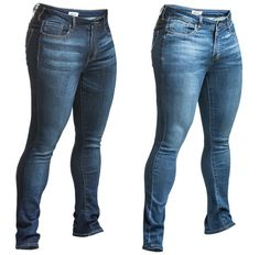 Relentless Women's Jeans. These are awesome! They're made for girls with quads :)