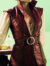 Gorgeous leather doublet