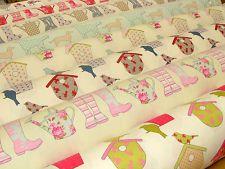 Ashley Wilde Cotton Designer Curtain Upholstery Fabric - Prestigious Quality