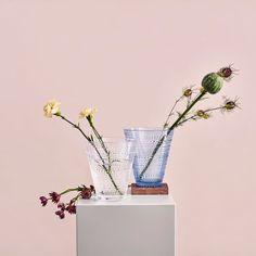 Kastehelmi Vase 15,4cm, Klar - Oiva Toikka - Iittala - RoyalDesign.no