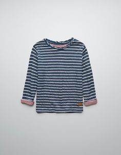 DOUBLE-FACED STRIPED T-SHIRT - T-shirts - Boy (2-14 years) - Kids - ZARA United States