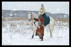 Costume Eastern Slavs: Slovens from Novgorod, 11 се. Фотографии - Misty Wood -   6 альбомов
